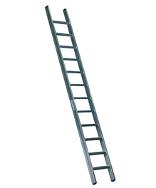 FRP Aluminium ladder | Aluminum Wall Support Ladder